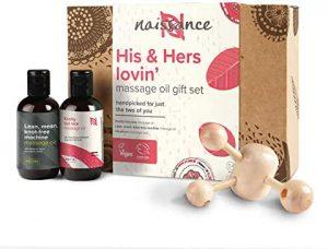 coffret huile massage