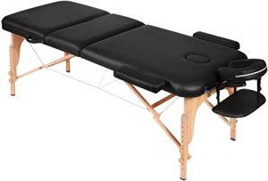 table massage portable à plier