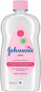 huile de massage bébé