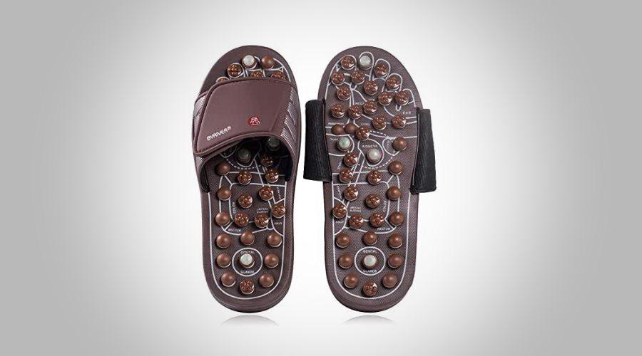 chaussure acupression - comparatif, test et avis - chausson massant, pantoufle massage