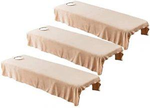 drap massage réutilisable lavable