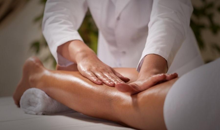 massage des jambes